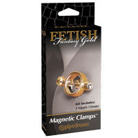 Fetish Magnetic Clamps Gold