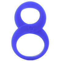 8 Ball Ring Blue