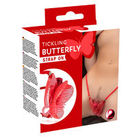 Tickling Butterfly Strap On