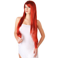 Long Straight Red Wig - Wigged Love