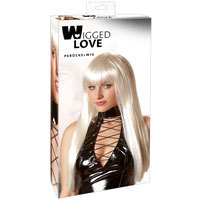 Very Long Platinum Blonde Wig - Wigged Love