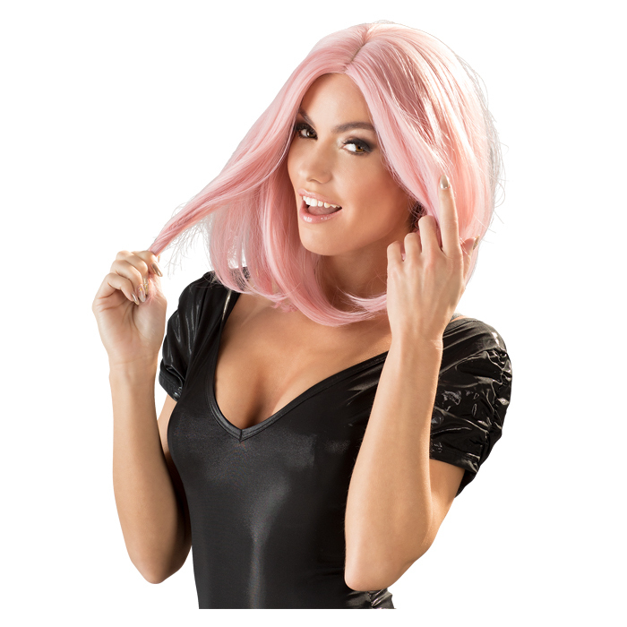 Wigged Love Long Pink Wig