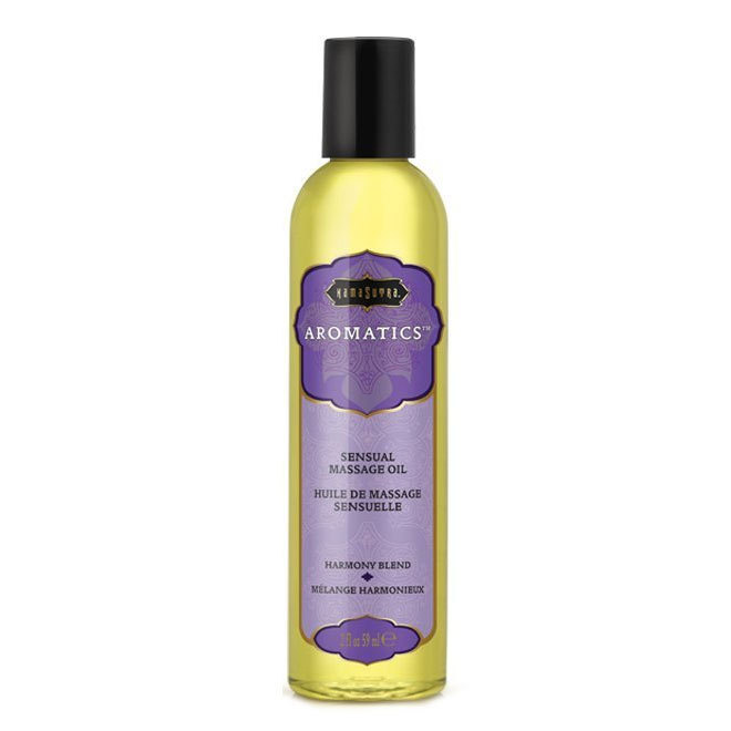 Harmony Blend Aromatics Massage Oil 59 ml.