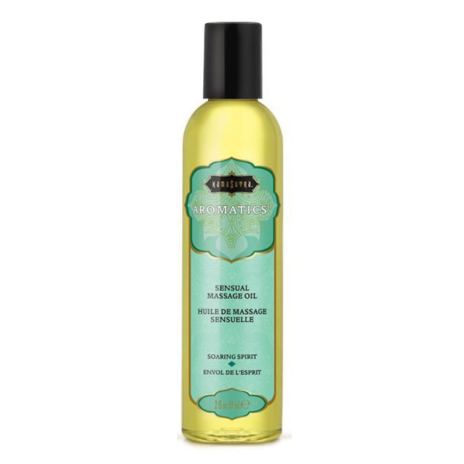 Soaring Spirit Aromatics Massage Oil 59 ml.