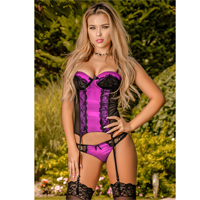 Victorian Dreams Corset & Thong Set