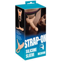 Strap On Silicone Sleeve Medium